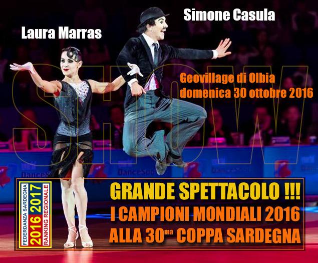 Casula-Marras, show a Olbia il 30 ottobre