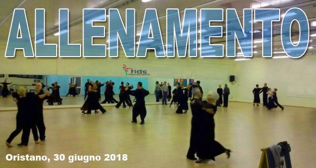 Allenamenti collegiali Danze di coppia FIDS Sardegna