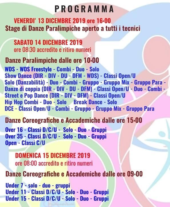 danzabilita 2019 programma
