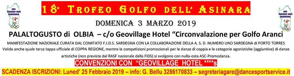 2019 Trofeo Golfo Asinara bann